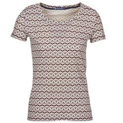 textil Dam T-shirts Petit Bateau 10620 Flerfärgad