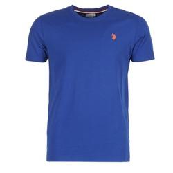 textil Herr T-shirts U.S Polo Assn. DBL HORSE Blå