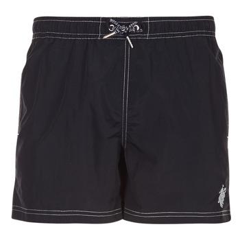 textil Herr Badbyxor och badkläder U.S Polo Assn. USPA SWIM TRUNK MED Svart