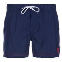 textil Herr Badbyxor och badkläder U.S Polo Assn. AXEL SWIM TRUNK MED Marin