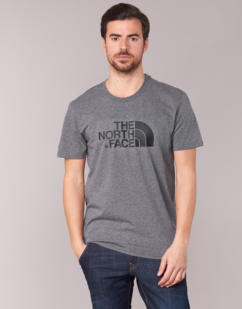 textil Herr T-shirts The North Face EASY TEE Grå