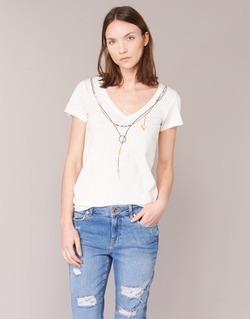 textil Dam T-shirts Oxbow TWIN Vit