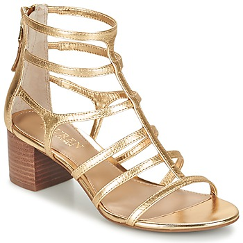 Skor Dam Sandaler Ralph Lauren MADGE SANDALS DRESS Guldfärgad
