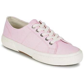 Skor Dam Sneakers Ralph Lauren JOLIE SNEAKERS VULC Rosa