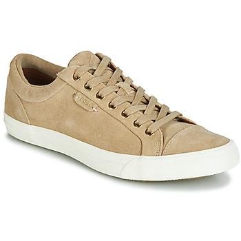 Skor Herr Sneakers Polo Ralph Lauren GEFFREY Kamel