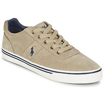 Skor Herr Sneakers Polo Ralph Lauren HANFORD Mullvadsfärgad
