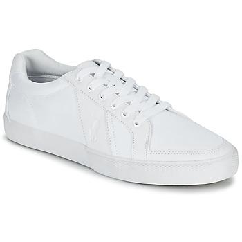 Skor Herr Sneakers Ralph Lauren HUGH Vit