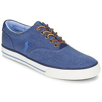 Skor Herr Sneakers Ralph Lauren VAUGHN Blå