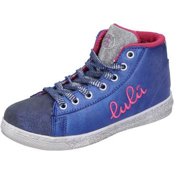 Skor Flickor Höga sneakers Lulu AH227 Blå