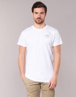 textil Herr T-shirts Hackett VEZINO Vit