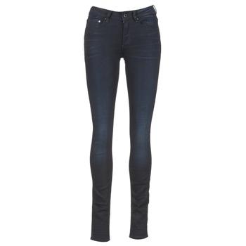 textil Dam Skinny Jeans G-Star Raw 3301 HIGH SKINNY Blå