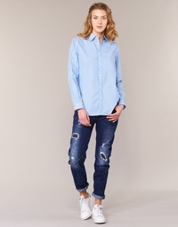 textil Dam Jeans boyfriend G-Star Raw ARC 3D LOW BOYFRIEND Blå