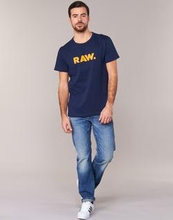 textil Herr T-shirts G-Star Raw RAW DOT Marin