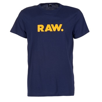 textil Herr T-shirts G-Star Raw RAW DOT Marin
