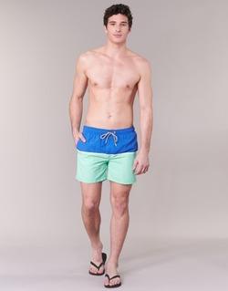 textil Herr Badbyxor och badkläder Gant CUT & SEWN SWIM SHORT Grön / Marin
