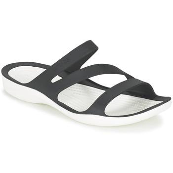 Skor Dam Sandaler Crocs SWIFTWATER SANDAL W Svart / Vit