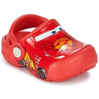 Skor Pojk Träskor Crocs Crocs Funlab Light CARS 3 Movie Clog Röd