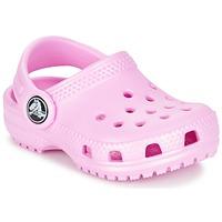 Skor Flickor Träskor Crocs Classic Clog Kids Rosa