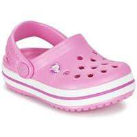 Skor Flickor Träskor Crocs Crocband Clog Kids Rosa