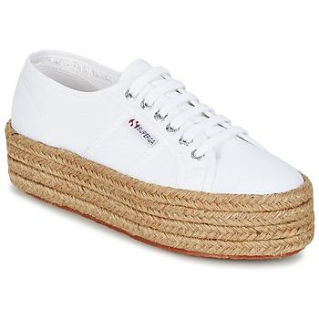 Skor Dam Sneakers Superga 2790 COTROPE W Vit