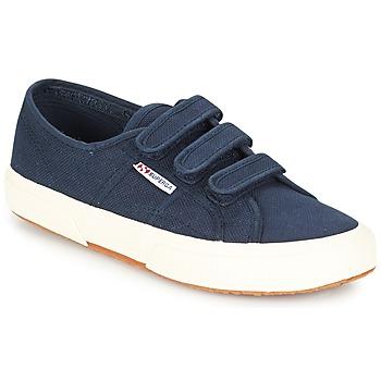 Skor Sneakers Superga 2750 COT3 VEL U Marin