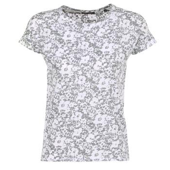 textil Dam T-shirts Marc O'Polo BRIDELOPAC Grå / Vit