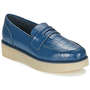 Skor Dam Loafers F-Troupe Penny Loafer Navy
