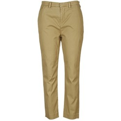 textil Dam Chinos / Carrot jeans Diesel P-RURI-B COGNAC