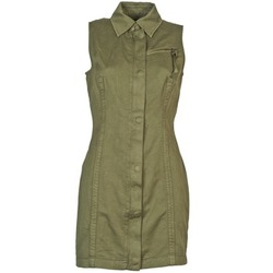 textil Dam Korta klänningar Diesel D-NAOMIE KAKI