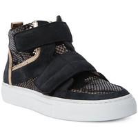 Skor Dam Höga sneakers Logan CROSSING Marrone