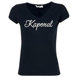 textil Dam T-shirts Kaporal NIAM Svart