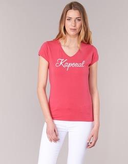 textil Dam T-shirts Kaporal NIAM Rosa