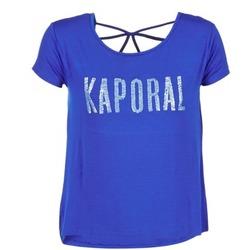 textil Dam T-shirts Kaporal NIZA Blå