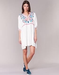 textil Dam Korta klänningar Billabong MYSTIC DRESS Benvit