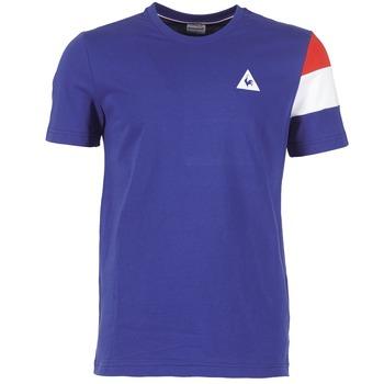 textil Herr T-shirts Le Coq Sportif BLUREA Blå