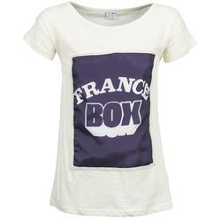 textil Dam T-shirts Kling WARHOL Vit