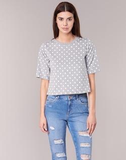 textil Dam T-shirts Compania Fantastica EPOITATI Grå / Vit