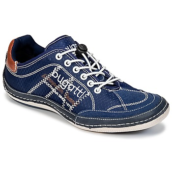 Skor Herr Sneakers Bugatti LAMETE Marin