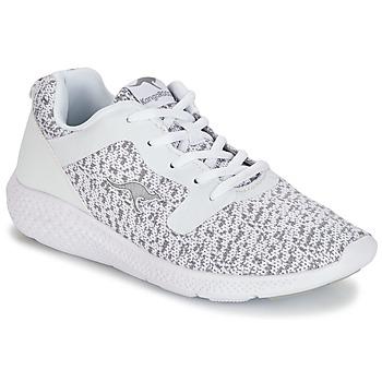 Skor Dam Sneakers Kangaroos KV 2 Vit / Grå