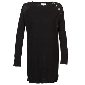 textil Dam Korta klänningar Suncoo CHARLIE Svart