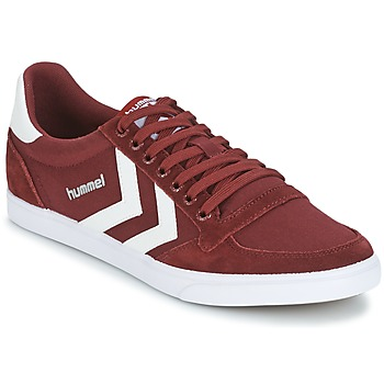 Skor Sneakers Hummel STADIL CANEVAS LOW Bordeaux