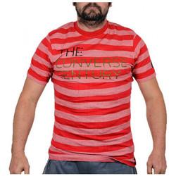 textil Herr T-shirts Converse  Röd