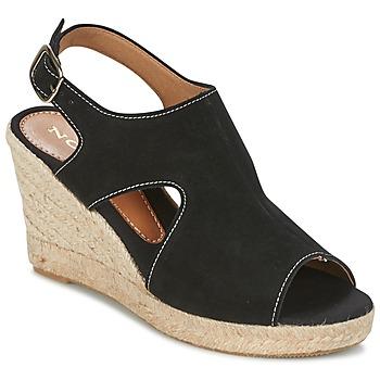 Skor Dam Sandaler Nome Footwear DESTIF Svart