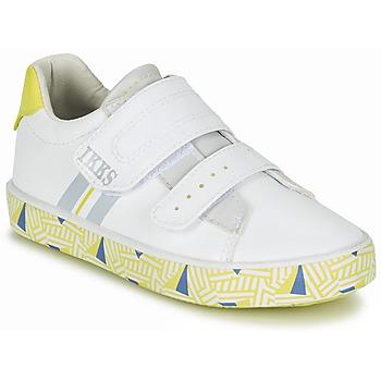 Skor Pojk Sneakers Ikks JOE Vit / Gul