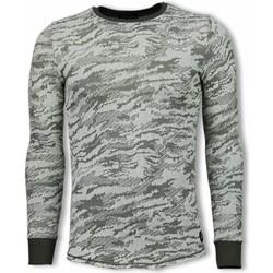 textil Herr Sweatshirts Tony Backer Army Look Long Fit UPG Grön