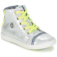 Skor Flick Höga sneakers Catimini PARULINE Silverfärgad