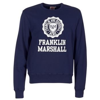 textil Herr Sweatshirts Franklin & Marshall NESS OFRA Marin
