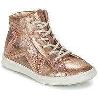 Skor Flick Höga sneakers GBB PRUNELLA Rosa / Guldfärgad