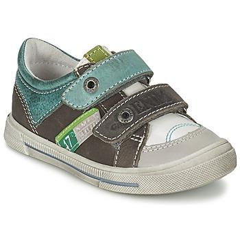 Skor Pojk Sneakers GBB PHIL Grå / Grön
