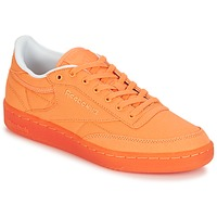 Skor Dam Sneakers Reebok Classic CLUB C 85 CANVAS Orange